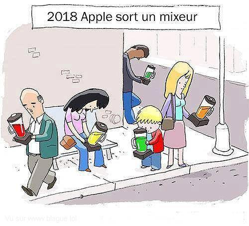 blague-dessin-apple-sort-un-mixeur