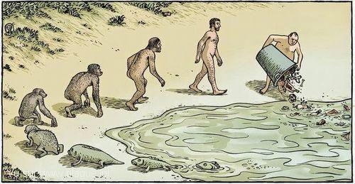 blague-dessin-homme-cycle-evolution-polution