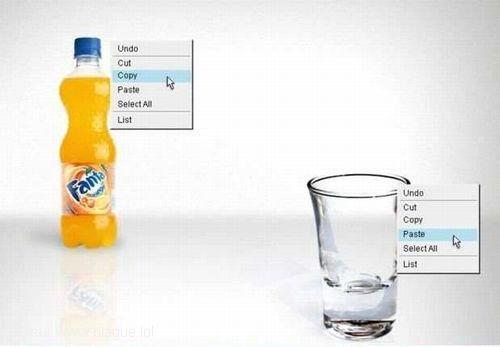 blague-divers-fanta-copier-coller-verre-vide
