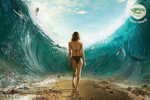 blague-femme-bikini-mer-s-ouvre-en-deux