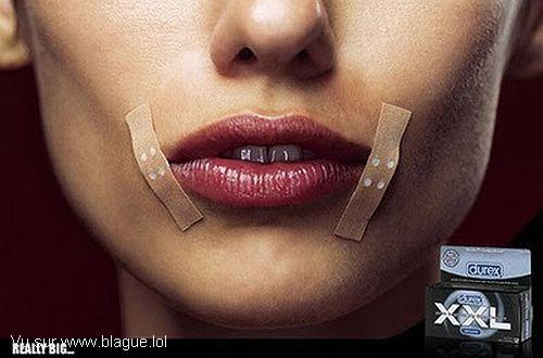 blague-femme-durex-xxl-pansement-bouche-femme