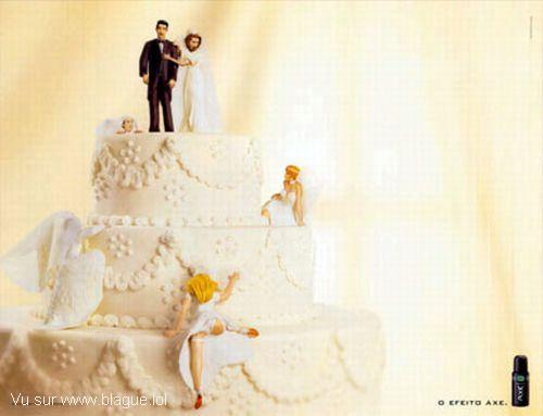 blague-marque-axe-gateau-mariage-plusieurs-mariees