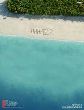 blague-marque-perdu-sur-une-plage