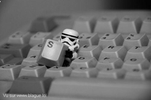 blague-starwars-stormtrooper-clavier