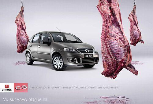 blague-transport-voiture-viande-vendre